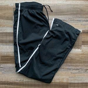 Nike Sweatpants Joggers Black/Whire Track Pants M